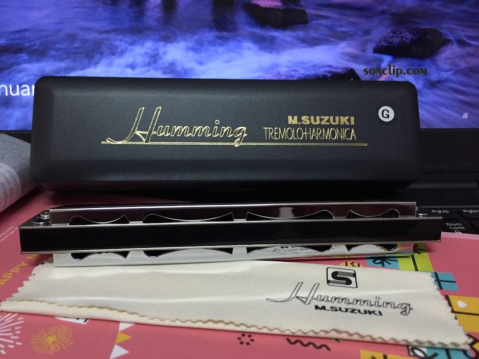 Kèn Harmonica - Suzuki Humming Tremolo SU-21H (Key G)