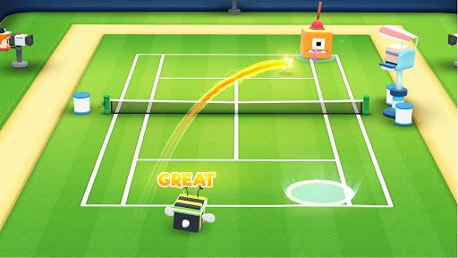 Tennis Bits Hack Full Tiền Vàng Cho Android
