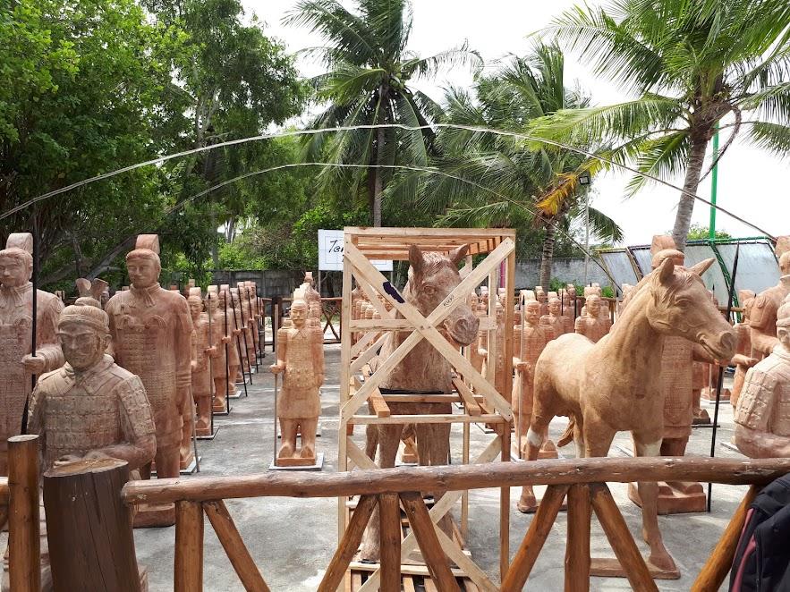 Terakota di Pantai Tongaci Bangka