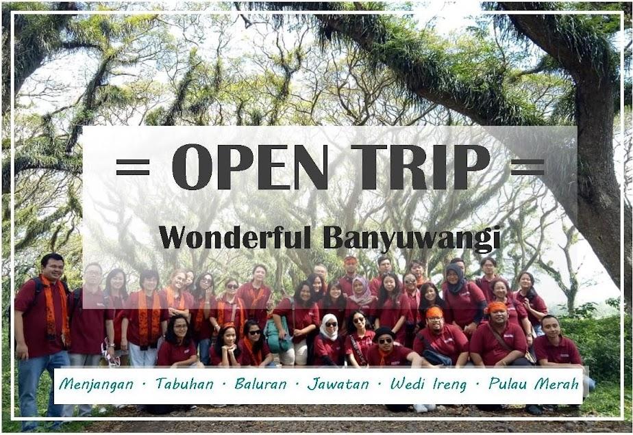 Open Trip Wonderful Banyuwangi [ Menjangan - Tabuhan - Baluran - Jawatan - Pulau Merah ]