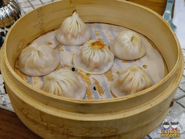 scallop and pork xiao long bao
