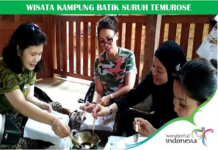Wisata Kampung Batik Suruh Temurose
