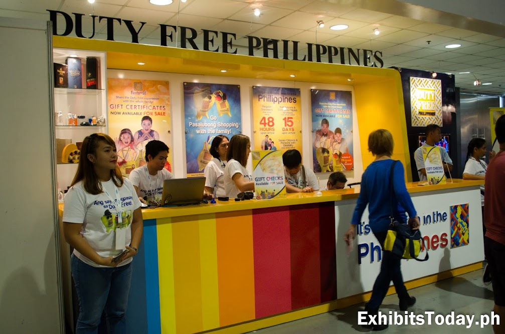 Duty Free Philippines Exhibit Display