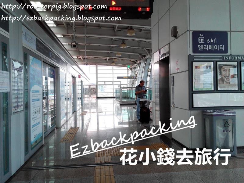 金海機場站的露台和香港港鐵相同,設有玻璃門