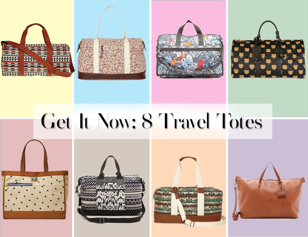 Get It Now: 8 Travel Totes