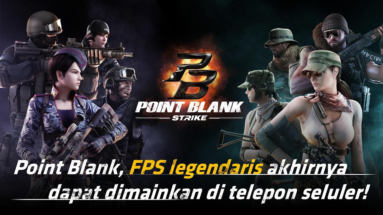 Pemainan Point Blank: Strike apk 2017