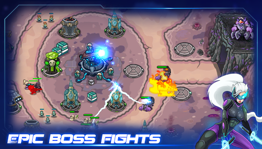 Galaxy Defense Lost Planet Hack Full Tiền Vàng Cho Android