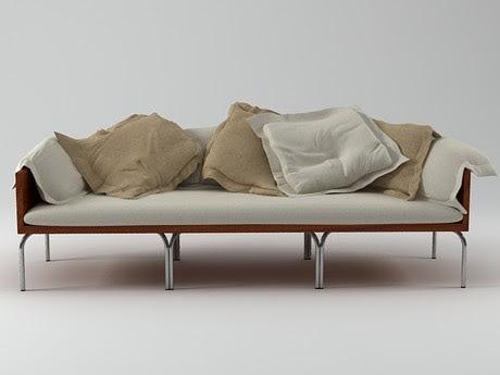 [3Dsmax] 3D model free - Isay sofa