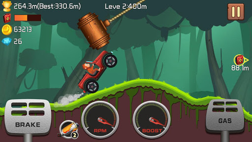 Jungle Hill Racing Hack Mod Full Tiền Vàng Cho Android