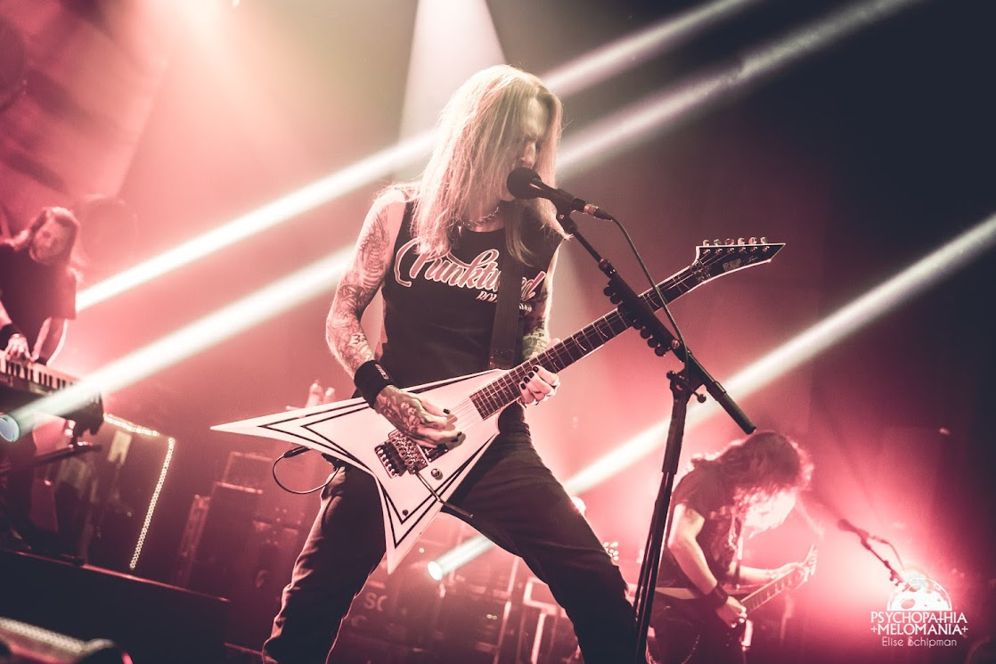 Children Of Bodom @Le Métaphone, Oignies 18/03/2017
